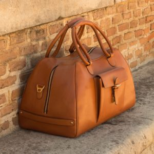 Handmade Travel Duffle shoes |  Luxury Leathergoods