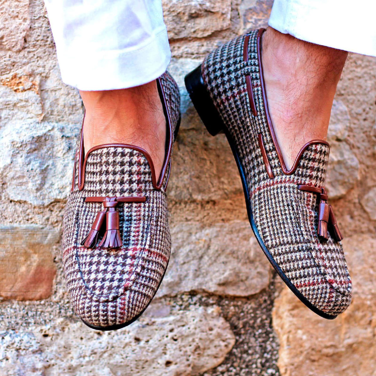 Handmade Wellington shoes |  Mens Slippers