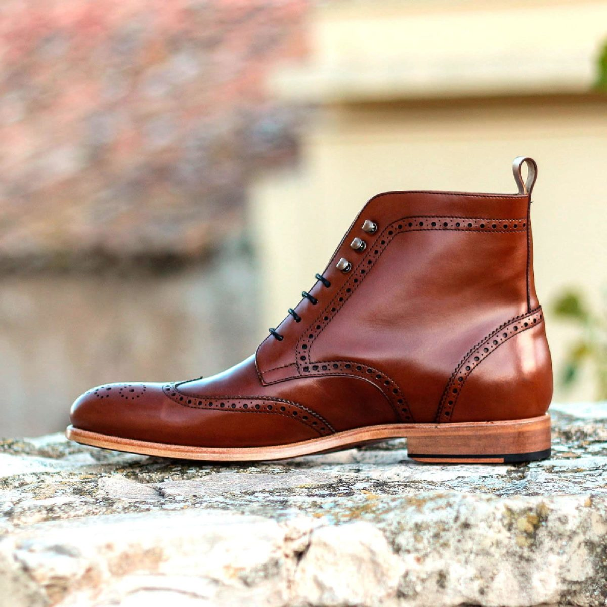 Handmade Military Brogue shoes |  Mens Dress