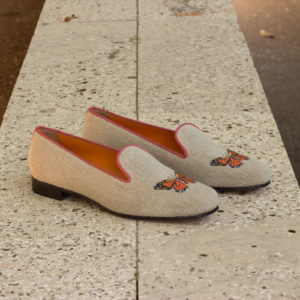 Handmade Audrey shoes |  Ladies Slippers