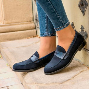 Handmade Women's Loafer shoes |  Ladies Dress