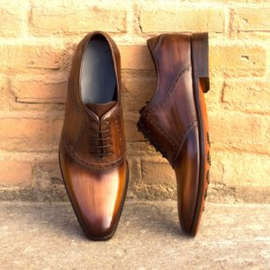 Handmade Saddle shoes |  Patina WorkShop