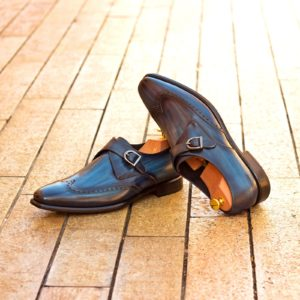 Handmade Single Monk shoes |  Patina WorkShop