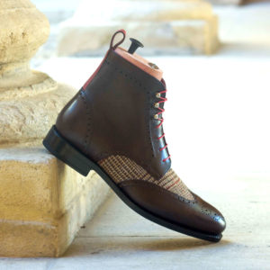 Handmade Military Brogue shoes |  Goodyear Welted
