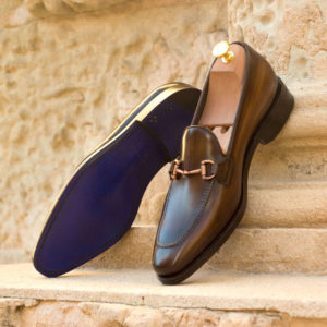 Handmade Loafer shoes |  Goodyear Welted Patina