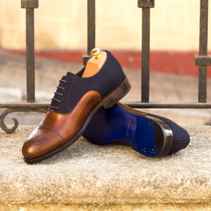 Handmade Oxford shoes |  Goodyear Welted