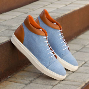 Handmade High Top shoes |  Mens Casual