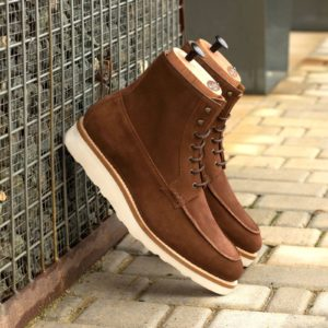 Handmade Moc Boot shoes |  Goodyear Welted