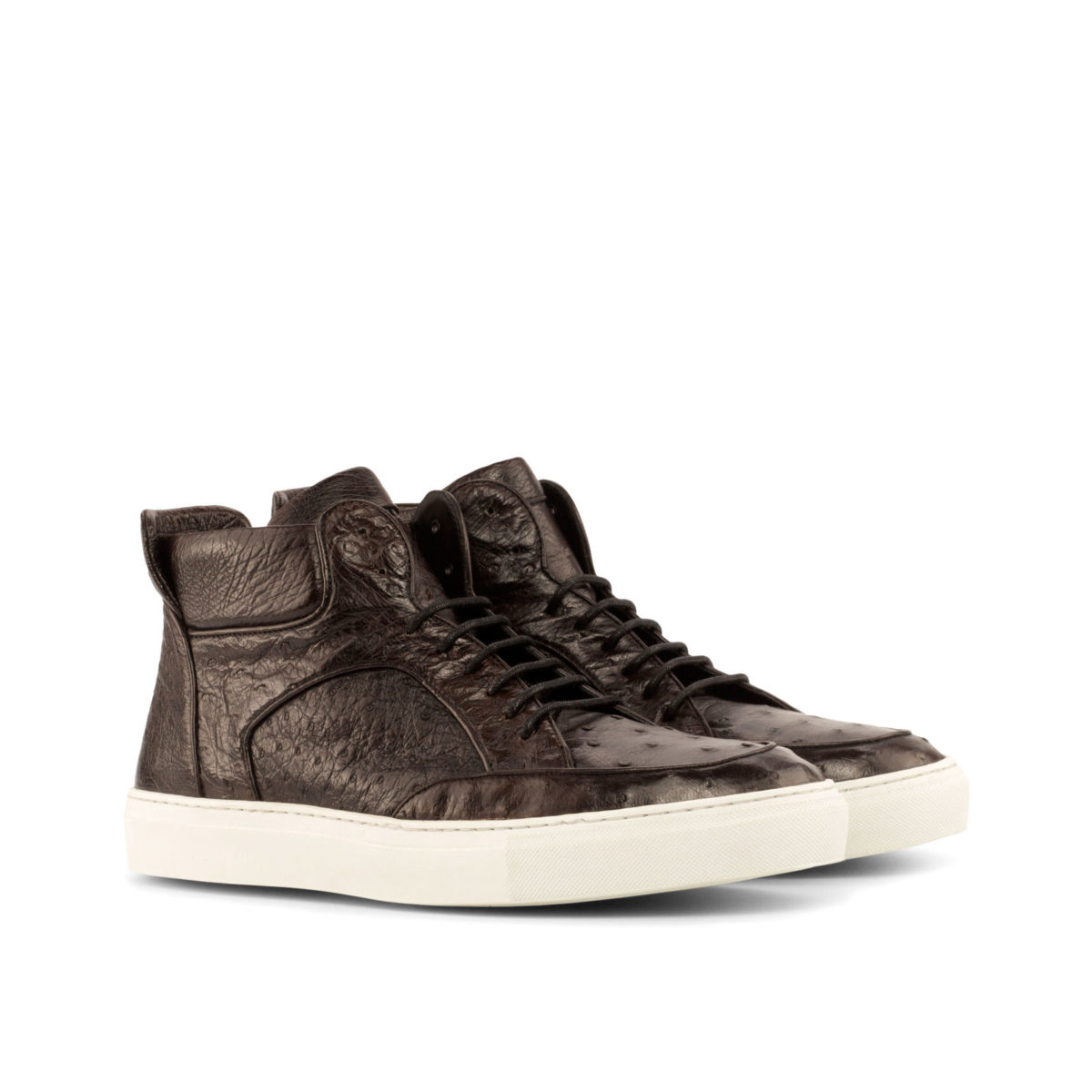 Handmade High Top Multi shoes    Exotic Skins