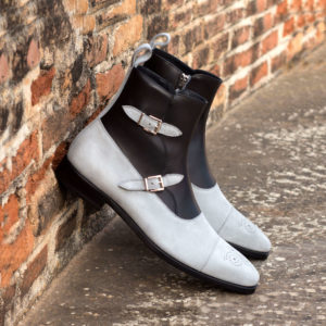 Handmade Octavian Buckle Boot shoes |  Mens Dress