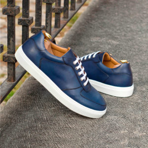 Handmade Low Top Trainer shoes    Mens Casual